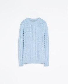 Camisola azul clarinho 29,95€