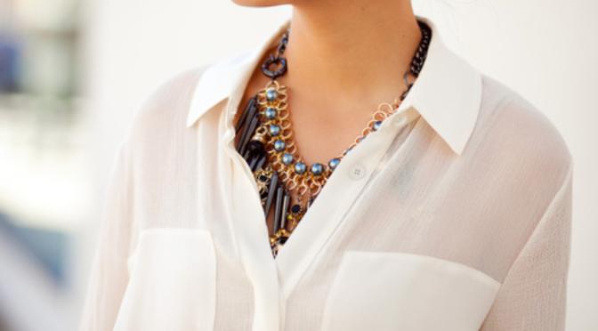 Fashion Tip – Com uma camisa branca nunca me comprometo!