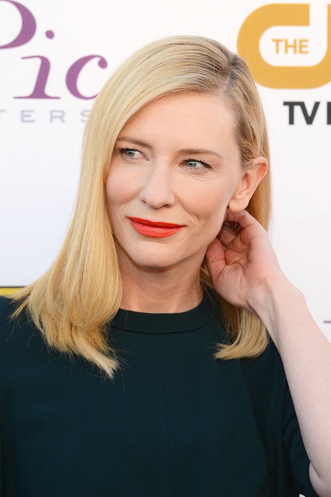 Cate Blanchett @ Criti...