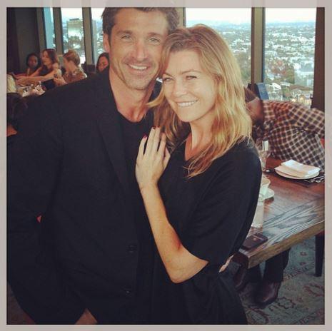 Foto retirada do Instagram da atriz em @ellenpompeo