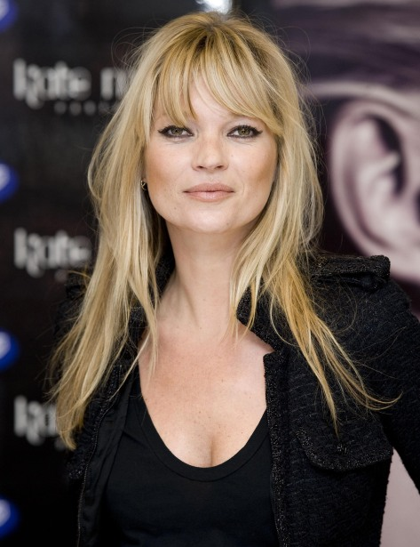 Kate Moss launches her new perfume, Muse in London