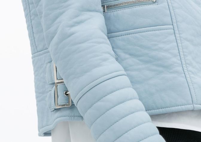 Fashion Tip – Blusão azul pastel Zara, como usar?