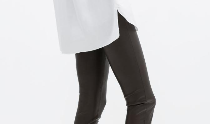 "Fashion Tip – Leggings de ""pele"" Zara, como usar?"