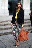 oliva palermo- floral pant- leopard print pumps