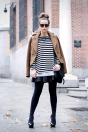 Stripes-outfit-leather-skirt-street-style-1