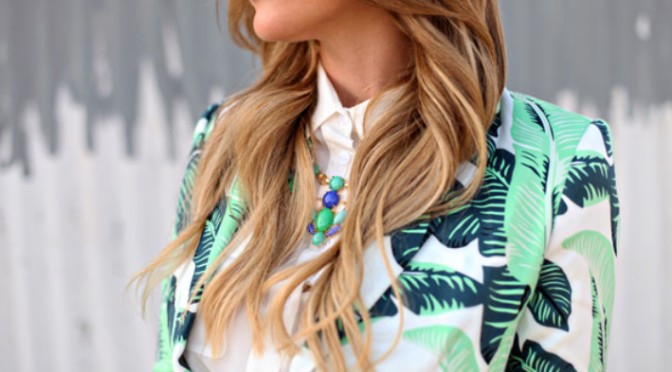 Fashion Tip – Tropical fever