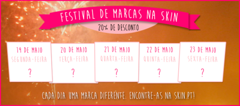 skin festival de marcas