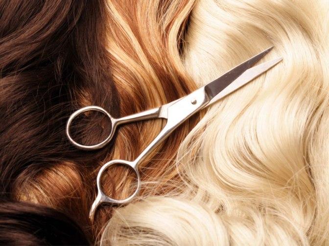 Cortar o cabelo – hoje é o dia!