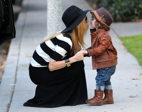 Rachel Zoe With Son Skyler
