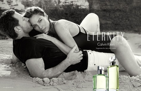 ck eternity christy turlington ed burns calvin klein