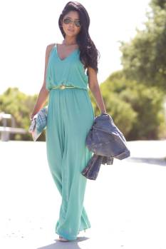 lush-fab-glam.com summer street style jumpsuit