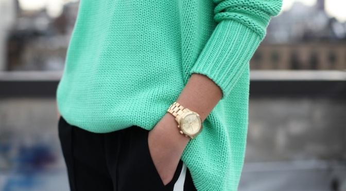 Fashion Tip – Inspiração verde água
