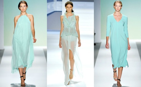 pastel mint green spring 2012