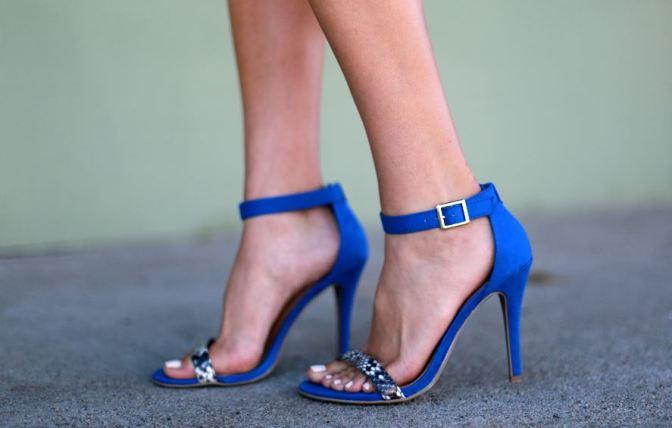 Fashion Tip – Como Usar Sandálias azuis