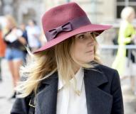 winter hat street style