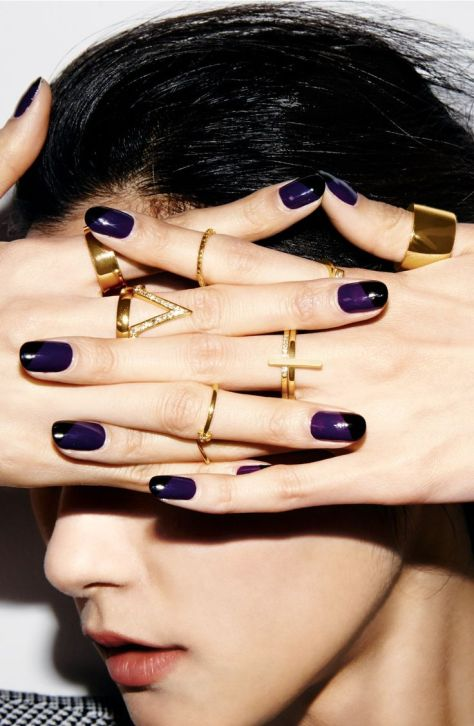 nails rings details