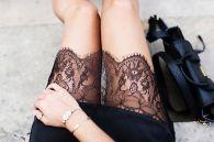 trend alert lingerie street style