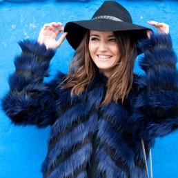 fur coat casaco de pelo street style lovely pepa