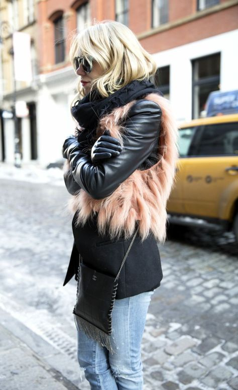 winter cold street style