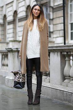 winter street style fashion look