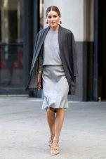 gray cinzento street style fashion olivia palermo