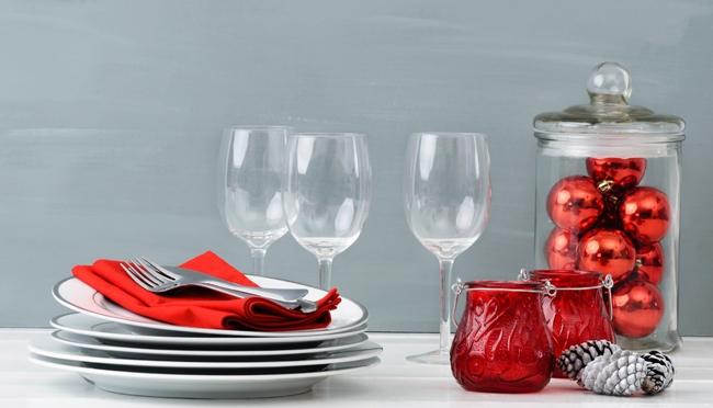 Como decorar a mesa para o Natal?