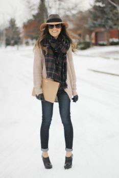 street style scarf blanket