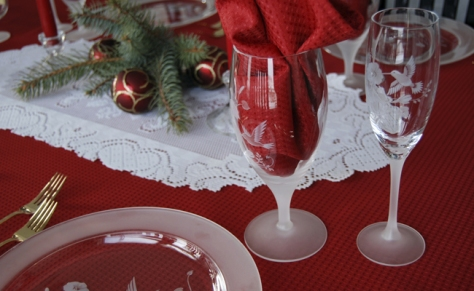 decoracao-mesa-natal christmas table decoration decor
