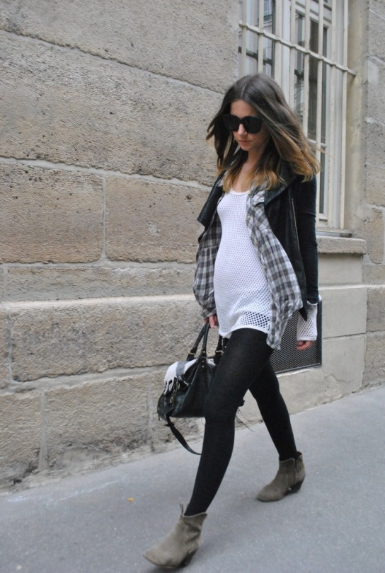 street style pregnant gravida gravidez estilo look