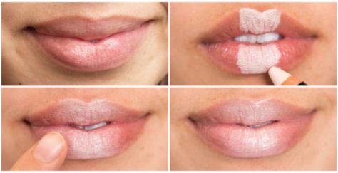 volume lips trick dicas lábios dar volume