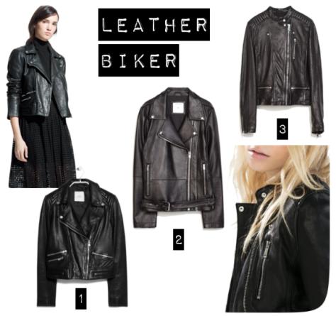 leather biker jacket street style blusão pele couro