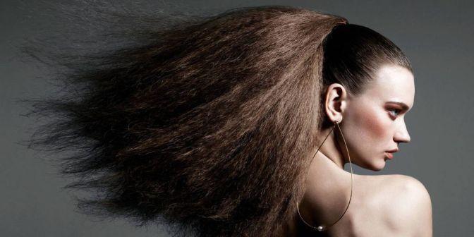 eletricidade estática cabelo eliminar