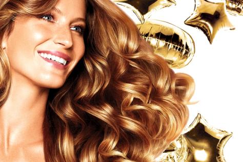 gisele bunchen pantene reparação hair care