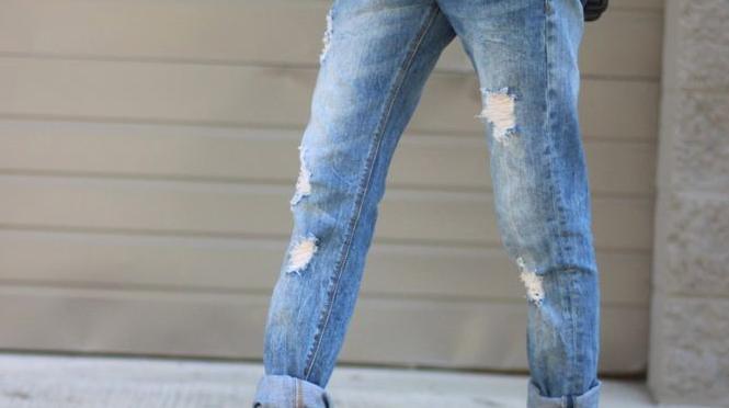Trend alert – Calças rasgadas