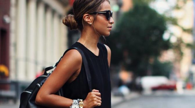 Fashion Tip – Como vestir preto no Verão