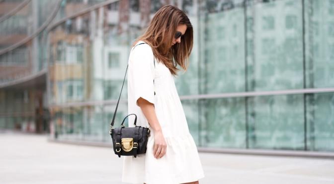 Fashion Tip – Com um vestido branco nunca me comprometo