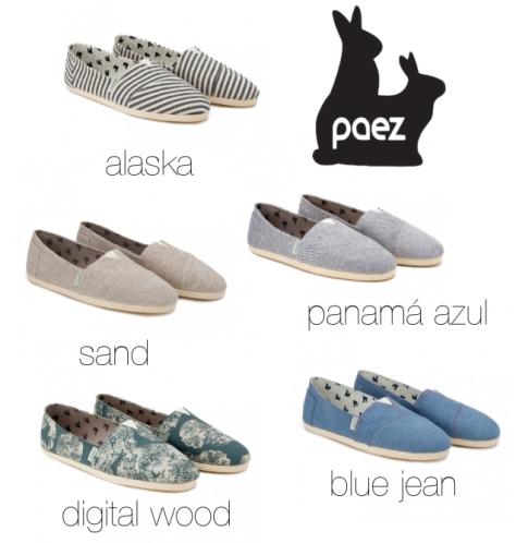modelos paez shoes