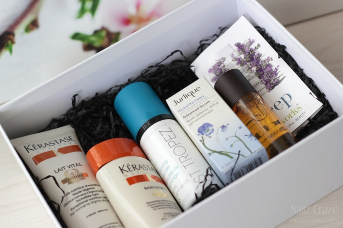 Look Fantastic Beauty Box September 2014 LFbeautybox 2