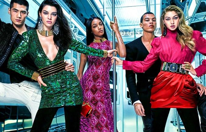 Balmain para H&M – Lookbook