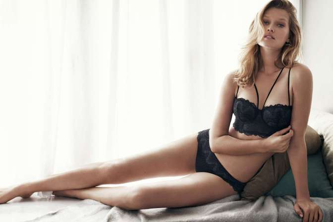 hm, h&M, lingerie, winter glamour, lookbook, lace, bra, panties