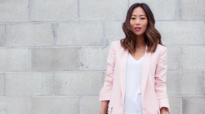Trend alert – Blazer rosa clarinho