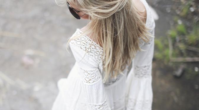 Trend alert – Vestido branco romântico
