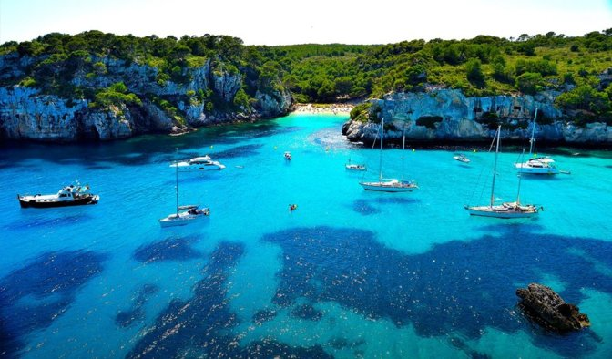 Destino de sonho – Menorca